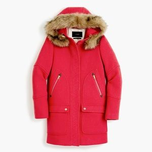 J Crew Stadium Cloth Parka